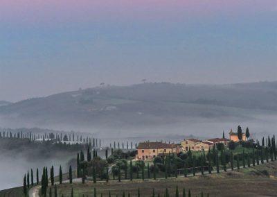 Terre di Siena Panorama Cipressi
