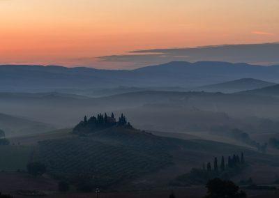 Terre di Siena Panorama Orizzonte