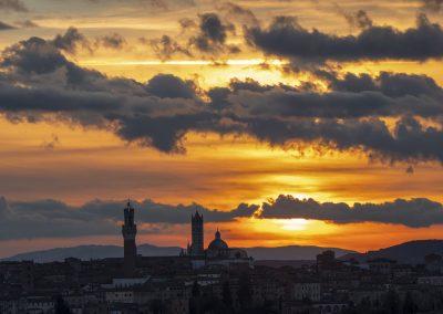 Siena Tramonte