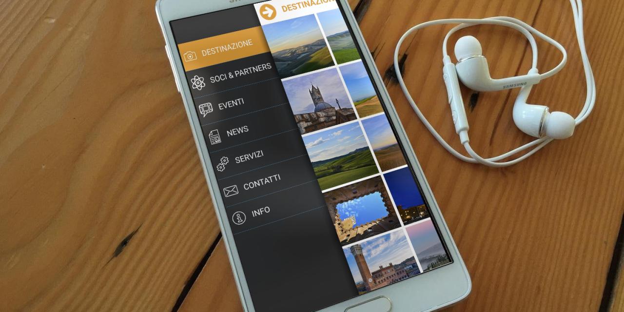 L'app del Convention Bureau Terre di Siena
