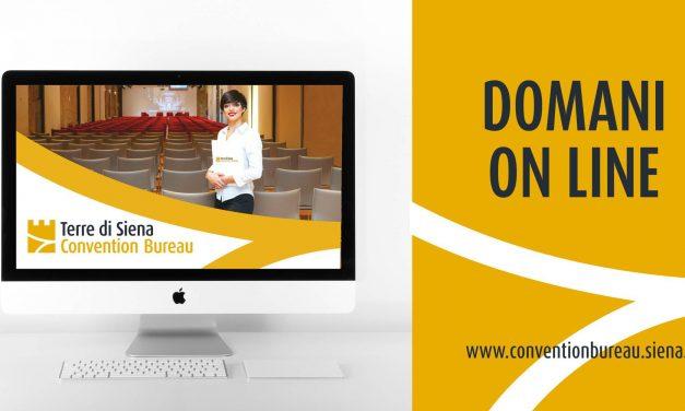 Presentazione del sito del Convention Bureau Terre di Siena